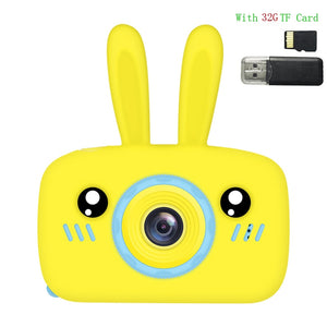 Children's Camera Toy Baby Cute Camera Rechargeable Digital Camera Mini Screen Baby Kids Educational Toys Outdoor Games Toys
