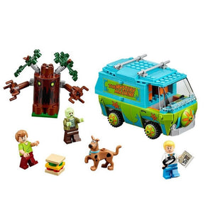 10430 10431 10432 Scooby Doo Building Blocks Model Educational Toy For Children Compatible With Lepining Scooby