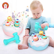 Load image into Gallery viewer, Baby Hammer Toy Kids Music Noise Maker Parent-child Interactive Toys Children Early Learning Educational Game For 1 Year Old