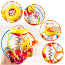 Load image into Gallery viewer, Baby Rattle Activity Ball Rattles Educational Toys For Babies Grasping Ball Puzzle Playgro Baby Toys 0-12 Months climb Learning