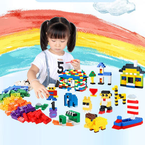 1000pcs building blocks toys for children gifts Educational Toys Compatible with classic city DIY bricks kids toys