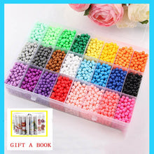 Load image into Gallery viewer, 6000pcs 24 colors Refill Beads puzzle Crystal DIY water spray beads set ball games 3D handmade magic toys for children