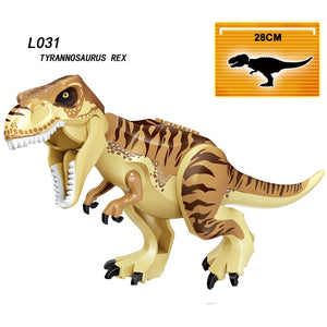 Jurassic World Brutal Raptor Building Blocks Jurrassic World 2 Dinosaur Figures Bricks Toys For Children Compatible