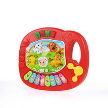 Load image into Gallery viewer, 2 Types Baby Kids Musical Animal Farm Piano Toys Early Educational Toys For Children Gift Developmental Musical Instrument Toys#