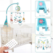 Load image into Gallery viewer, Baby Rattles Crib Mobiles Toy Holder Rotating Mobile Bed Bell Musical Box Projection 0-12 Months Newborn Infant Baby Boy Toys