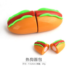 Load image into Gallery viewer, Children's kitchen play house toy vegetable bread fish cut cut fruit children's educational toys