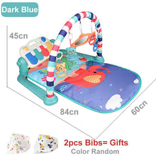 Load image into Gallery viewer, Baby Play Mat Children's Rug Crawling Pad Kid Developing Playmat Music Infant Carpet Rattle Activity Education Toys For Children