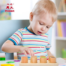 Load image into Gallery viewer, Baby Wooden Montessori Sensory Material Toy Kids Preschool Educational Tactile Toy For Children PHOOHI