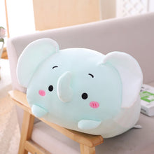 Load image into Gallery viewer, 20-90cm Animal Sweet Dinosaur Cat Kawaii Plush Toy Soft Cartoon Panda&Hamster&Elephant&Deer Stuffed Doll Baby Pillow Gift Toys
