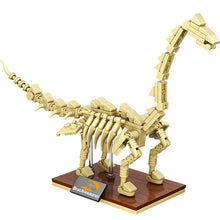 Load image into Gallery viewer, Jurassic World 3D Dinosaurs Fossils Skeleton Model Building Blocks Bricks Dino Museum Educational DIY Toys For Children gifts