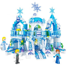 Load image into Gallery viewer, 2020 Princess Snow Queen Ice Castle Snow Figures Building Blocks Toy Compatible Lepining Friends City Bricks Toys For Children