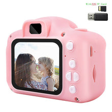 Load image into Gallery viewer, 2 Inch HD Screen Chargable Digital Mini Camera Kids Cartoon Cute Camera Toys Outdoor Photography Props for Child Birthday Gift