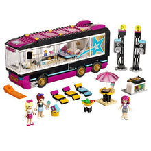 Load image into Gallery viewer, 684Pcs Pop Star Tour Bus 10407 Friends Series Building Blocks Toys For Children Compatible With Lepining 41106
