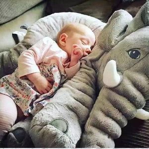 Lovely 40cm/60cm Infant Plush Elephant Soft Appease Elephant Playmate Calm Doll Baby Toy Elephant Pillow Plush Toys Stuffed Doll