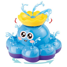 Load image into Gallery viewer, Octopus Animal Children Bathroom Water Spray Bath Toys Baby Funny Electric Bathing Toys For Infant Shower Swimming Water Play