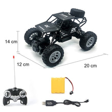 Load image into Gallery viewer, RC Cars 1:18 Radio Control car Buggy Off-Road Trucks Toys For Children High Speed Climbing Mini rc Rc Drift driving Car