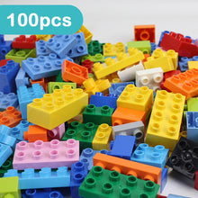 Load image into Gallery viewer, 50-150PCS DIY Big Size Colorful Bulk Bricks Compatible Duploe Building Blocks Construction Educational Toys For Children Gifts
