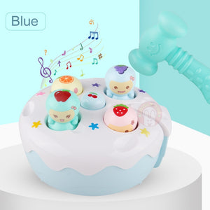 Baby Hammer Toy Kids Music Noise Maker Parent-child Interactive Toys Children Early Learning Educational Game For 1 Year Old