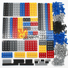 Load image into Gallery viewer, Technic Building Blocks Parts Bulk MOC Thick Bricks 6Color Combination Accessories Studded Long Beams Robot Children Toys