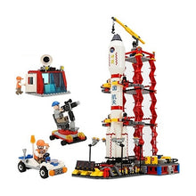 Load image into Gallery viewer, City Spaceport Space The Shuttle Launch Center 679Pcs Bricks Building Block Educational Toys For Children Lepining 8815