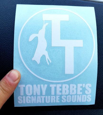 TT Signature Sounds Decal