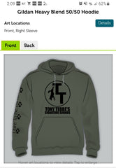 TT Signature Sounds Hoodie - OD Green