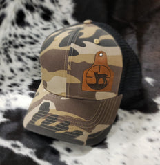 TT Leather Cowtag Hat