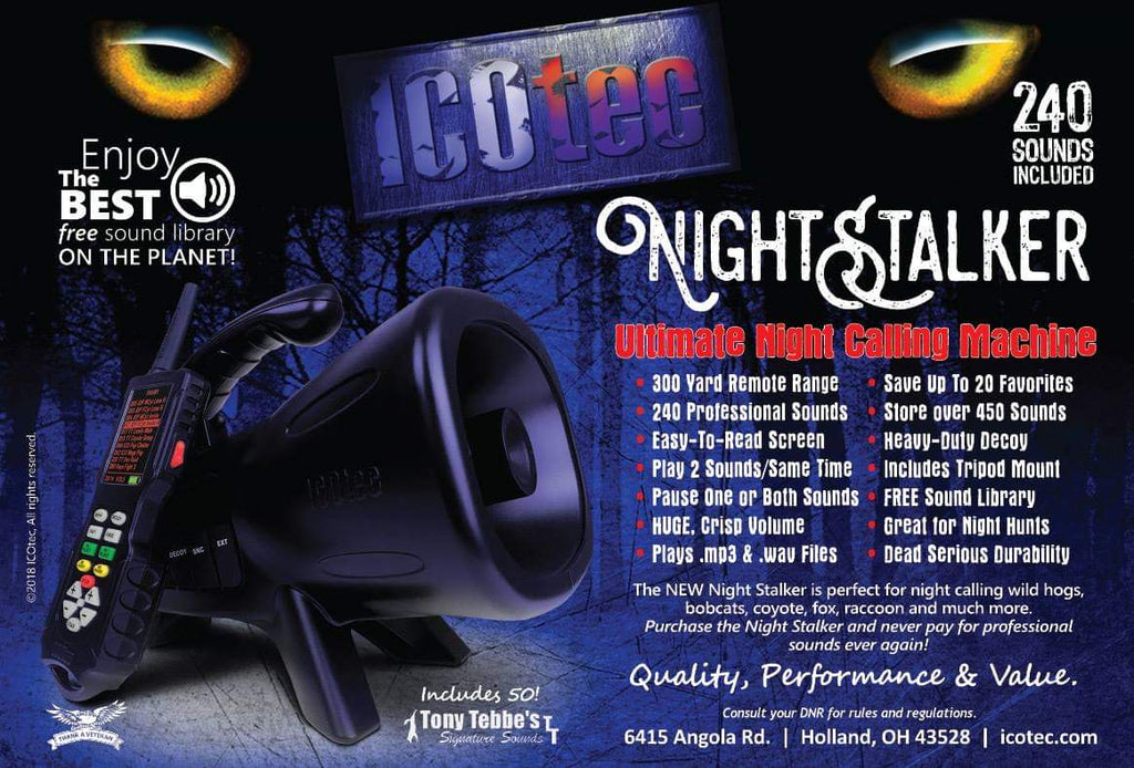 ICOtec Nightstalker - TT Edition