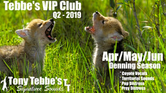 Tebbes VIP CLUB 2019 - Apr/May/Jun