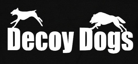 Decoy Dogs Decal