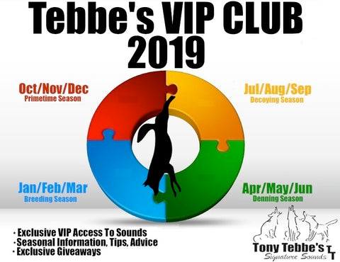 Tebbes VIP CLUB 2019 - Oct/Nov/Dec