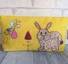 Load image into Gallery viewer, Bunny Make Up Bag