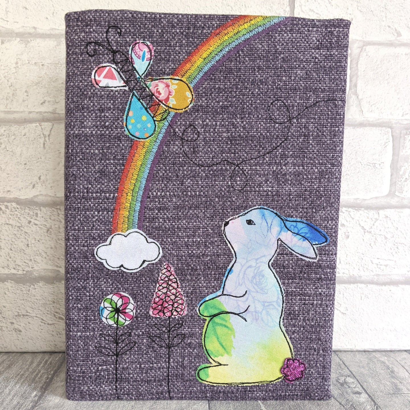 A5 Rabbit & Rainbow notebook