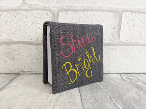 'Shine Bright' Memo Block