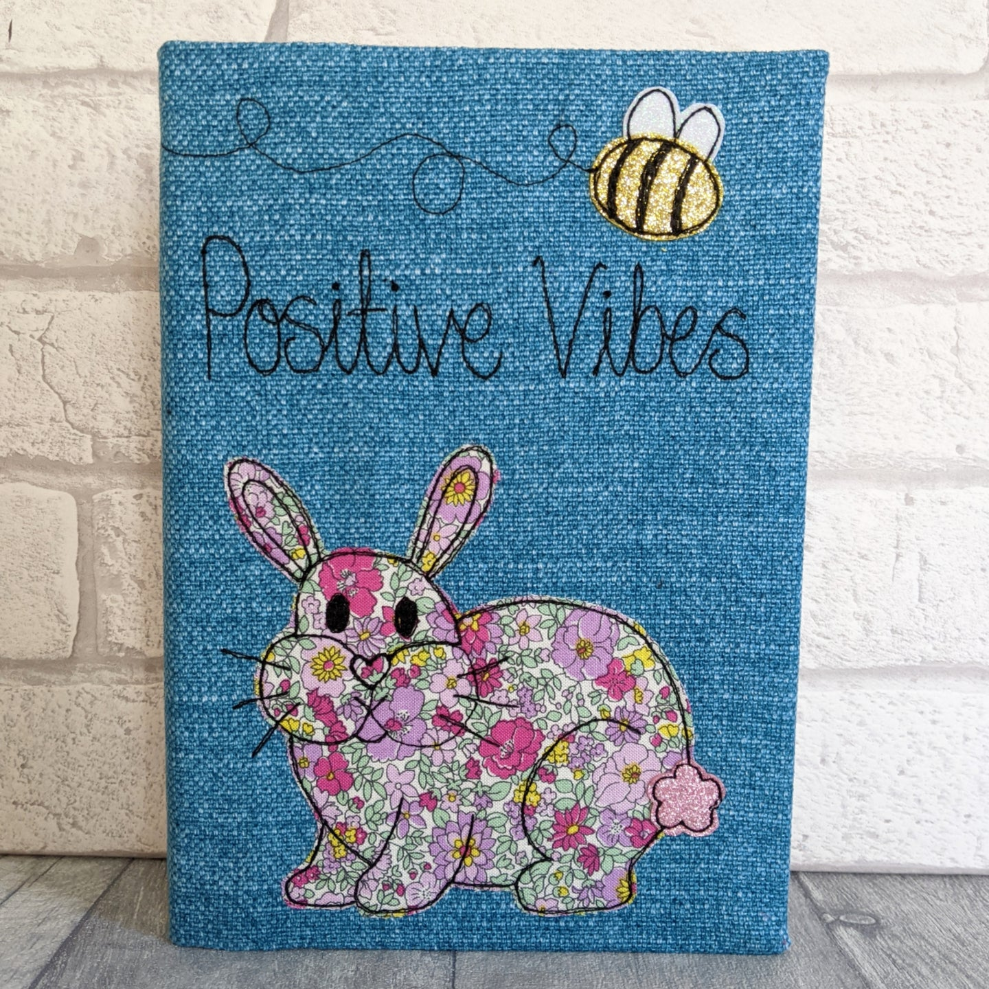 A5 Bunny 'Positive Vibes' Notebook