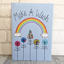 Load image into Gallery viewer, A5 'Make A Wish' Rainbow Notebook