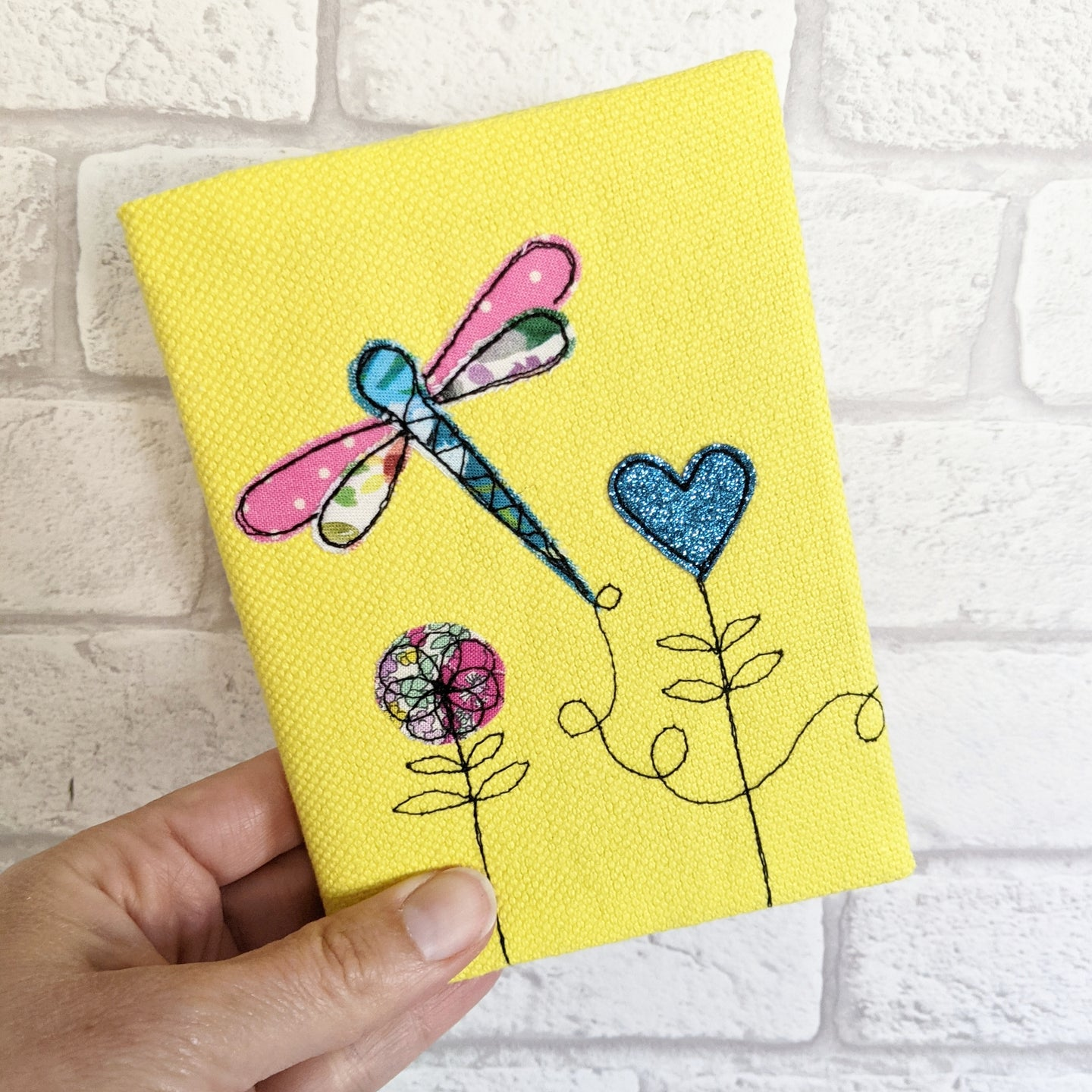A6 Dragonfly Notebook