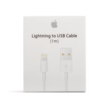 Load image into Gallery viewer, Apple Lightning to USB Cable Airpod / iPhone Charger & Data Cable