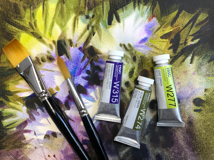 Workshop Supplies - Watercolour