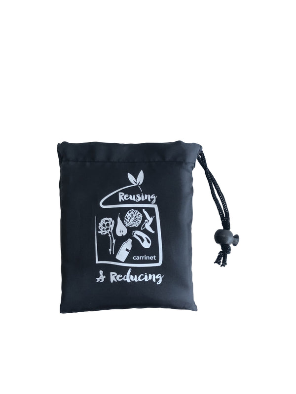 "Shop Bag - ""Reusing and Reducing"" SVART"