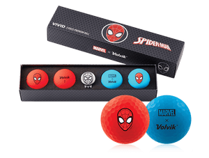 Marvel Spiderman Golf Ball Gift Set
