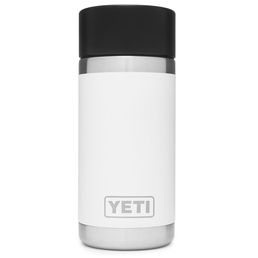 Yeti 12 Ounce Reusable Bottle with Hotshot Cap White