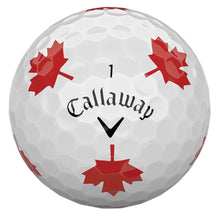 Load image into Gallery viewer, Chrome Soft Truvis Maple Leaf Golf Balls Limited Edition
