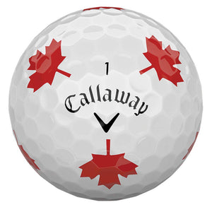 Chrome Soft Truvis Maple Leaf Golf Balls Limited Edition