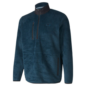 Puma Sherpa 1/4 Zip Jacket Digi Blue