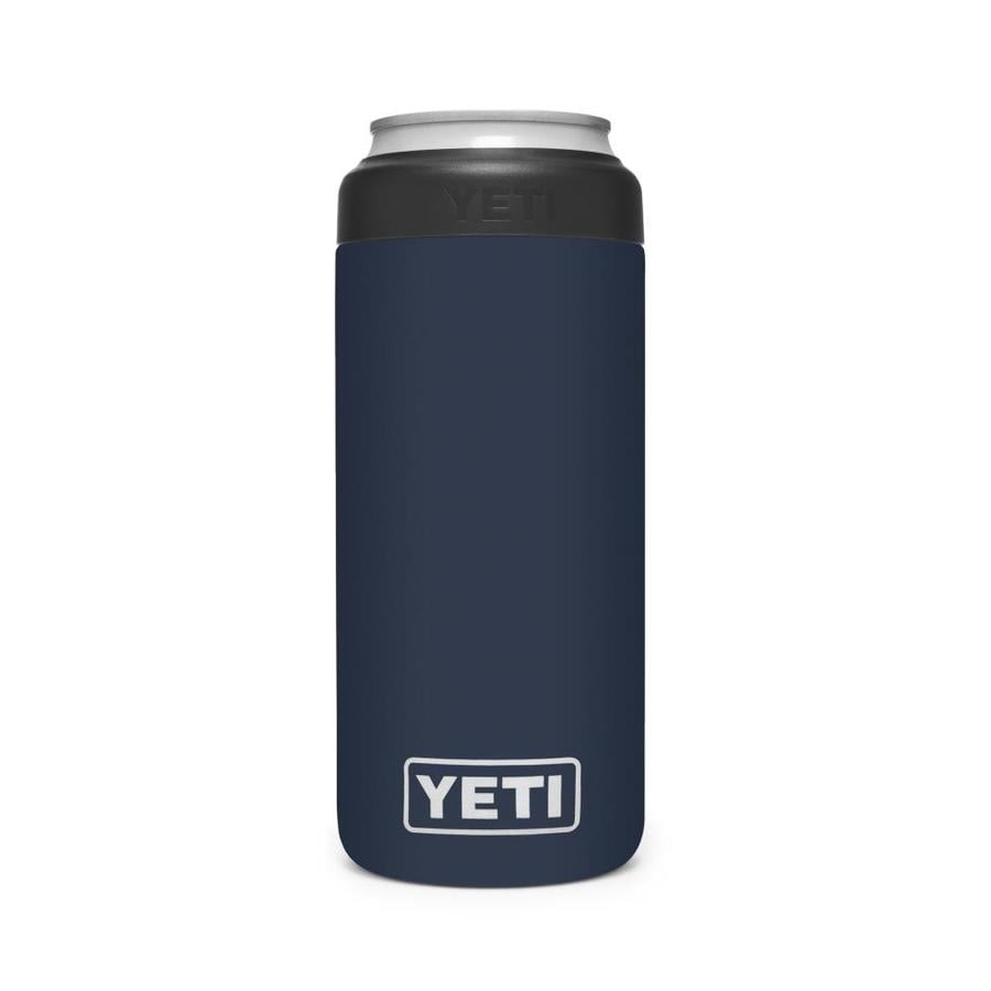 Yeti 12 Ounce Colster Slim Can Insulator Navy