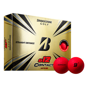 Bridgestone E12 Contact Matte Red