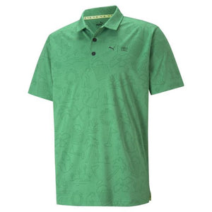 First Mile Flash Golf Polo Green