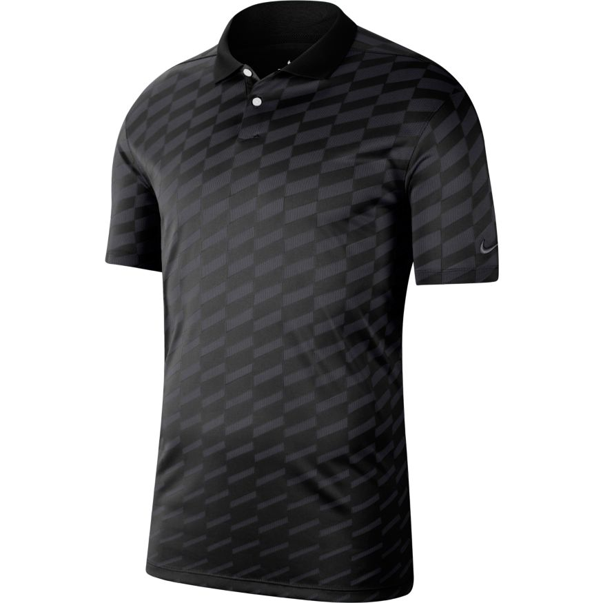 Nike Dri-FIT Vapor Wing Golf Polo Black