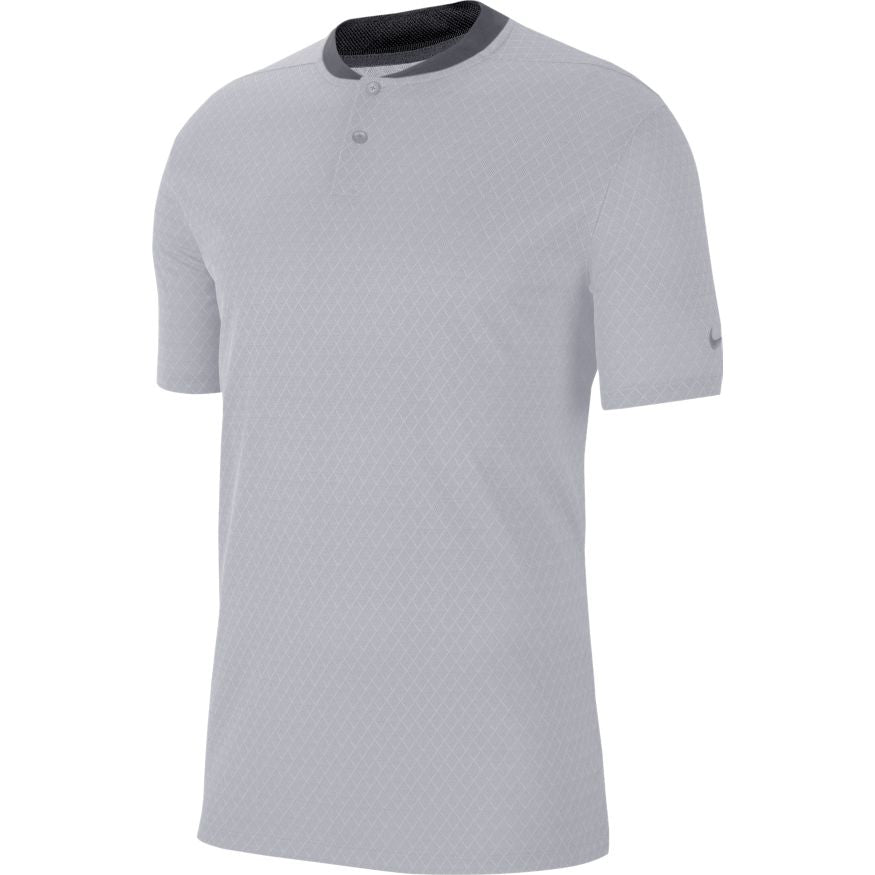 Nike Dri-Fit Vapor Textured Golf Polo Grey